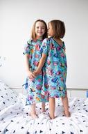 Piżama Mocne Koszulki 122 wielokolorowy