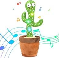 Śpiewający i Tańczący Kaktus Pluszowe Zabawki