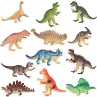 Dinozaury Figurki Park Duży Zestaw Zwierząt 12szt