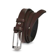 Pasek damski skórzany spodni Betlewski brązowy pas