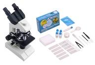 Mikroskop OPTICON - SkillMaster 1000x + akcesoria