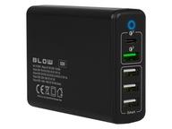 Ładowarka sieciowa BLOW PD QC 60W 5x USB USB-C