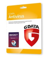 G Data AntiVirus Karta Klucz - 1 komputer 1 rok