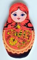 Matrioszka Magnes na lodówkę (ceramiczny)