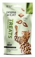 Prima Cat Chrupiący przysmak z wołowiną bez zbóż