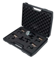 Zestaw 7 mikrofonów perkusyjnych + uchwyty i case