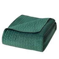 Narzuta na łóżko 200x220 velvet pikowana welur
