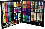Zestaw artystyczny do malowania Art Set ZY0010-R 288 el w walizce różowy