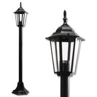 Lampa Ogrodowa stojąca zewnętrzna lampion retro