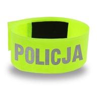OPASKA POLICJA - ODBLASK, BEZPIECZEŃSTWO, NA RAMIĘ