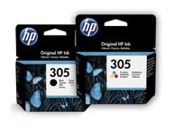 Zestaw tuszy HP 305 czarny + kolor 3YM61AE 3YM60AE