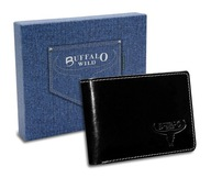 Rewelacyjny portfel męski skórzany Buffalo Wild