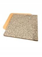 GRANITEX Kamień do pizzy chleba 37x35 2w1+ ŁOPATKA