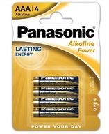 Bateria alkaliczna Panasonic LR3 AAA 4 sztuki