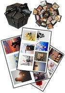 SAM Wydruk zdjęć do pudełka Exploding box album