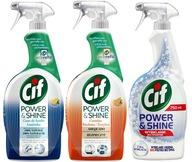 Cif Power Shine Spray Łazienka Kuchnia Wybielanie