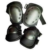 Ochraniacze na kolana i łokcie zewnętrzne czarne