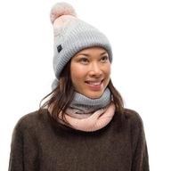 Czapka zimowa BUFF KNITTED & FLEECE HAT ciepła
