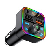 Transmiter FM BLOW ładowarka USB QC RGB bluetooth