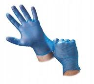 Rękawice rękawiczki winyl bezpudrowe roz M 100 szt