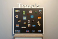 Tablica magnetyczna na pamiątki z wakacji TRAVEL