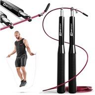 Skakanka łożyskowa regulowana treningowa fitness
