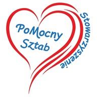 Logo zbiórki Wsparcie działań statutowych Stowarzyszenia PoMocny Sztab