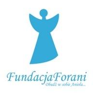 Logo zbiórki #Obudź w sobie Anioła i wesprzyj poszkodowanych w wypadkach.