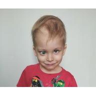 Logo zbiórki ❗️Ratując wzrok, ratujesz jego życie - 3-letni Leoś walczy z nowotworem! Pomocy!