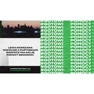 Logo zbiórki #GotowiDoPomocy - wsparcie dla seniorów podczas epidemii koronawirusa COVID-19