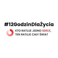 Logo zbiórki #12GodzinDlaŻycia