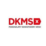 Logo zbiórki Fundacja DKMS - zbiórka na rejestrację i przebadanie potencjalnych Dawców szpiku