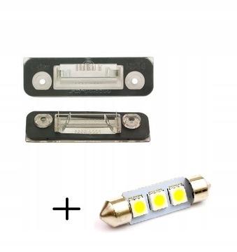 ford fusion 02-12 подсветки номера плафон led - фото