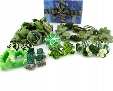 Купить Набор украшений для волос зеленая обертка на Otpravka - цены и фото - доставка из Польши и стран Европы в Украину.