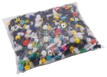 комплект 1000 шт пукли кнопки пластиковое nity авто - фото
