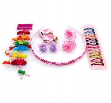 Купить Набор украшений для волос розовая полоса в милашки на Otpravka - цены и фото - доставка из Польши и стран Европы в Украину.