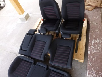 ford fusion mondeo mk5 сиденье сиденья задние - фото