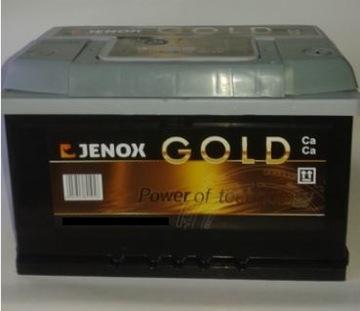аккумулятор 63 ah jenox gold правый+  grojec 62,  64,  65 - фото