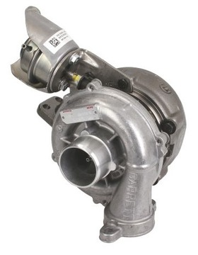 турбина ford c-max focus mk2 1.6 tdci 90 101 109 k - фото