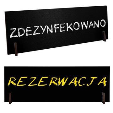 Купить ZDEZYNFEKOWANO Табличка ласточкин STÓŁ резервация на Otpravka - цены и фото - доставка из Польши и стран Европы в Украину.