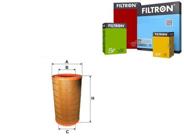 фильтр воздуха filtron 1335678 1421021 md7118 rs3 - фото