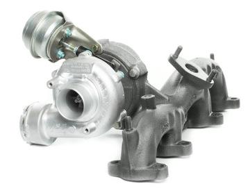турбина audi / skoda / vw 1.9 tdi 100/101/105 axr - фото