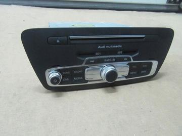 магнитола audi q3 8u1035678a navigacja audio cd - фото