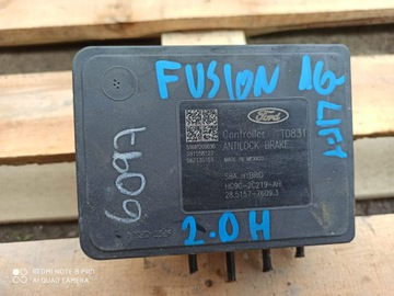 насос abs ford fusion usa 2.0 hybrid рестайлинг 2017 - фото