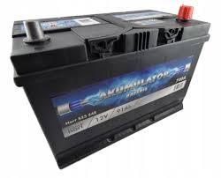 аккумулятор kia k2500 wysoki 91 ah 12v 740a правый + - фото