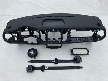 vw new beetle торпеда консоль панель подушка ремни безопасности ремень - фото