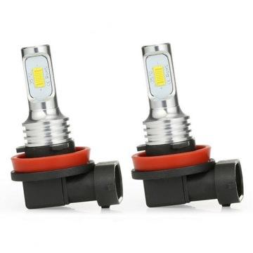 ЛАМПОЧКИ LED (СВЕТОДИОД ) H8/H9/H11 CSP БЕЛЫЕ 80W 2 ШТУКИ