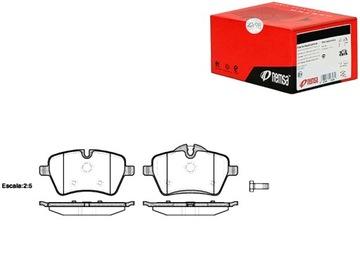 колодки тормозные mini paceman cooper sd ( r61) - фото