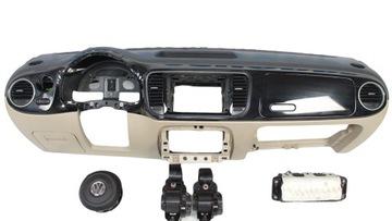 vw new beetle торпеда подушка консоль ремни безопасности комплект - фото