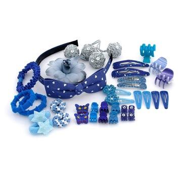 Купить Набор украшений для волос Blue СТИЛИ с повязкой на Otpravka - цены и фото - доставка из Польши и стран Европы в Украину.